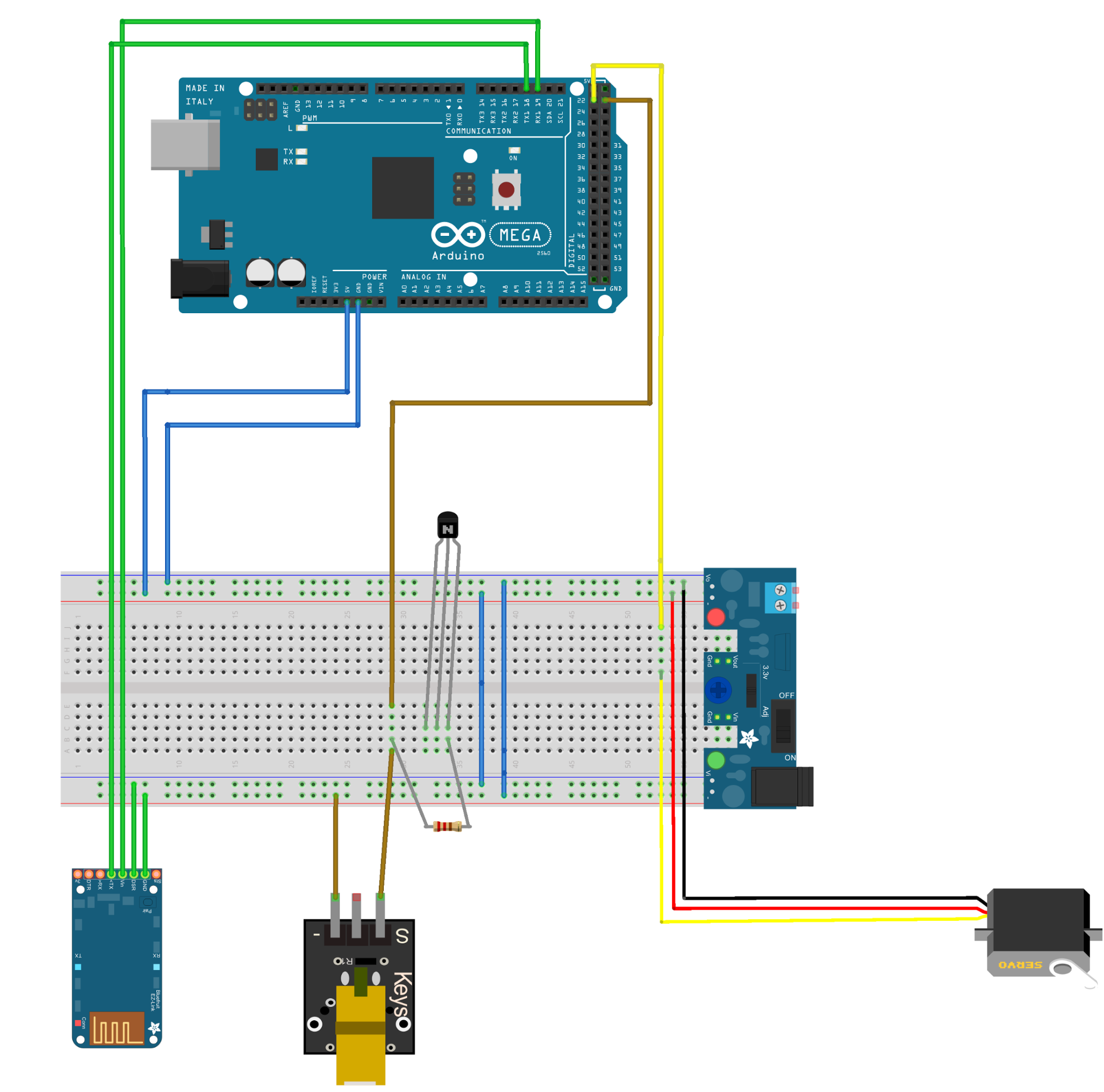 Results From Logic Analyzer 2 Axis Joystick Wiring Diagrams The Bluetooth Module Receives Commands Based Station Which Turn Laser On Off And Control Position Of Servo Motor Diagram